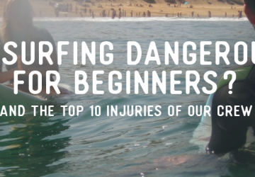 is surfing dangerous for beginners
